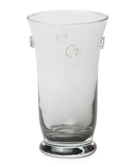 Lucia Pale Gray Highball Glasses, Set of 6