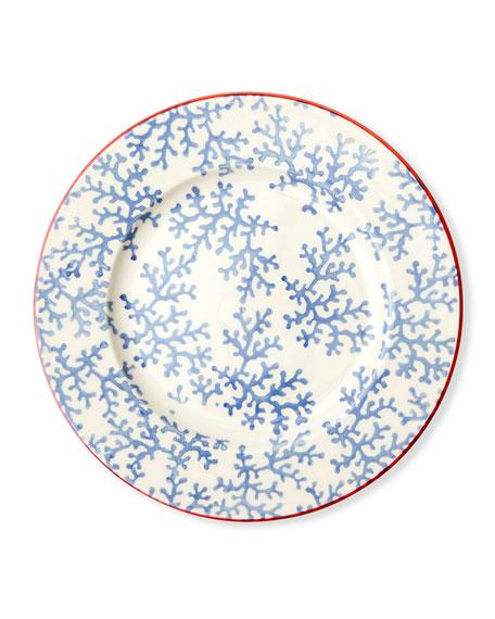 Sienna Coral Salad/Dessert Plates, Set of 4