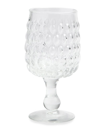 Claire Clear Water Goblets  Set of 6