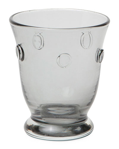Lucia Pale Gray Tumblers  Set of 6