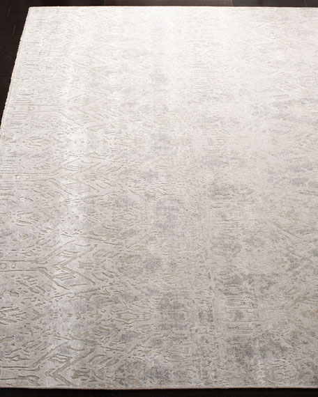 Jacques Hand-Knotted Rug, 6' x 9'
