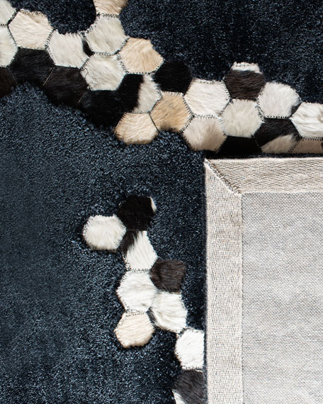 Burris Hand-Tufted Rug, 4' x 6'