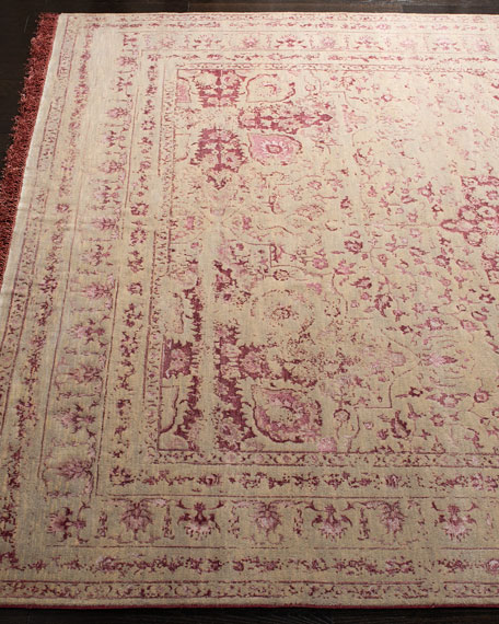Carnaby Hand-Knotted Rug, 6' x 9'
