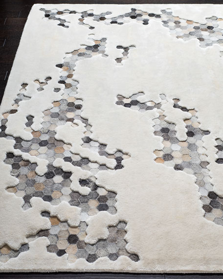 Dasher Hand-Tufted Rug, 5' x 8'