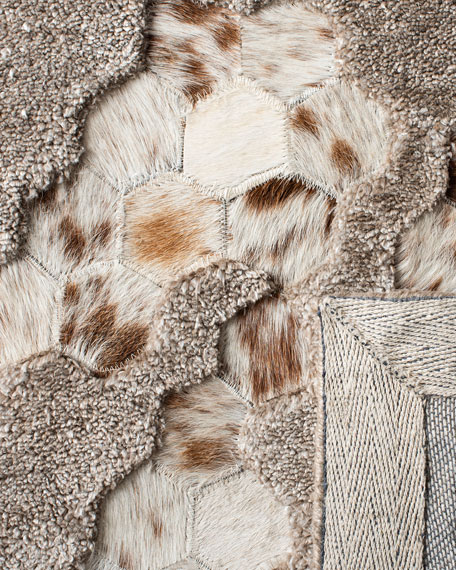 Derek Hand-Tufted Rug, 4' x 6'