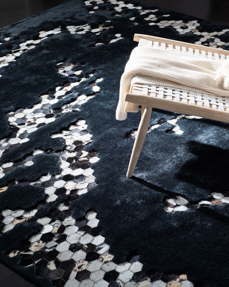 Burris Hand-Tufted Runner, 2.3' x 8'