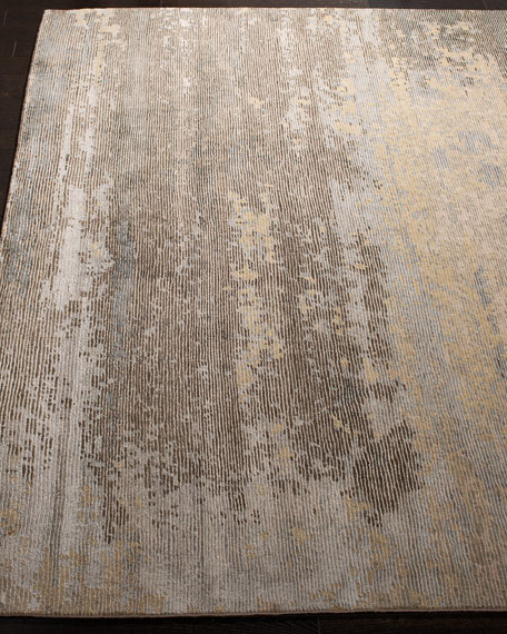 Kingsley Hand-Knotted Rug, 6' x 9'