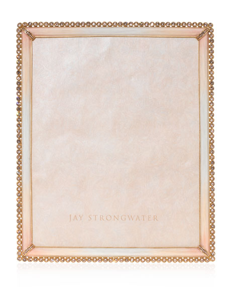 Jay Strongwater Stone Edge Picture Frame, 8