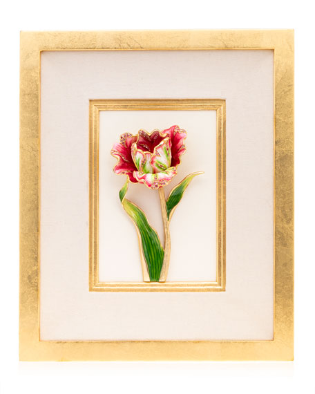 Jay Strongwater Tulip Wall Art
