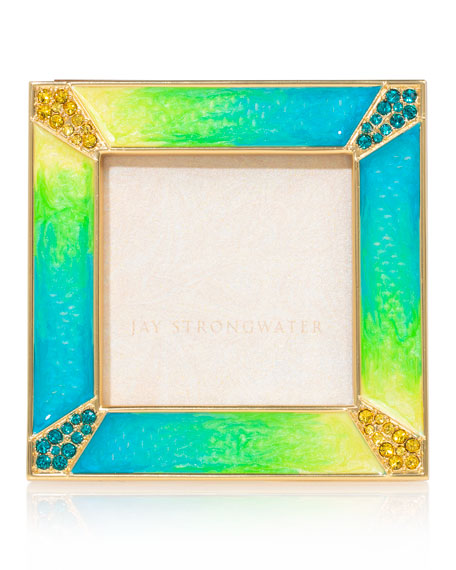Pave Corner Picture Frame, 2""