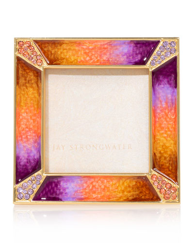 Pave Corner Picture Frame  2