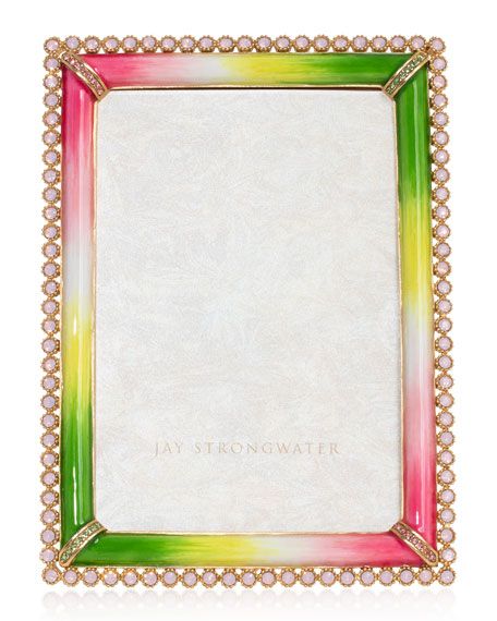 Jay Strongwater Stone Edge Picture Frame, 4