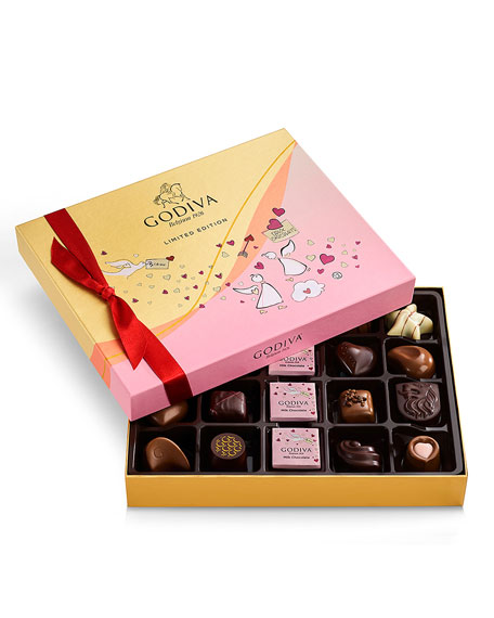 Godiva Chocolatier 20-Piece Valentine's Day Chocolate Gift Box