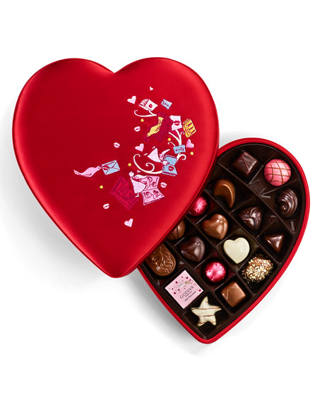 Godiva Chocolatier 25-Piece Valentines Day Chocolate Gift Box
