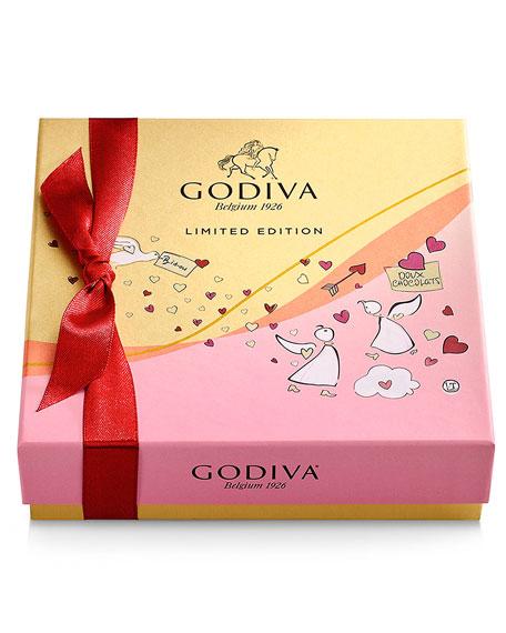 9-Piece Valentine's Day Chocolate Gift Box