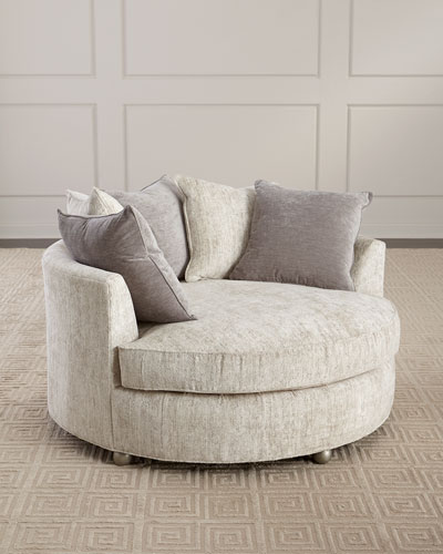 Bethany Round Chaise