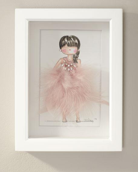 """Davina"" 3D Art by Mizy"