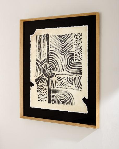 """Ancient Artifact III"" Giclee Wall Art"