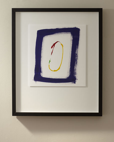 """Primary No. B"" Giclee Art"