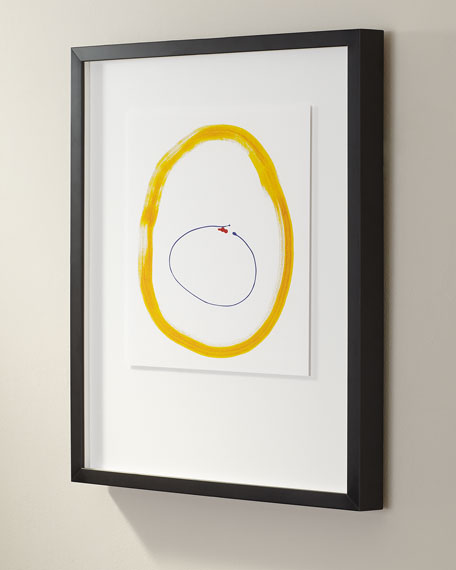 """Primary No. Y"" Giclee Art"
