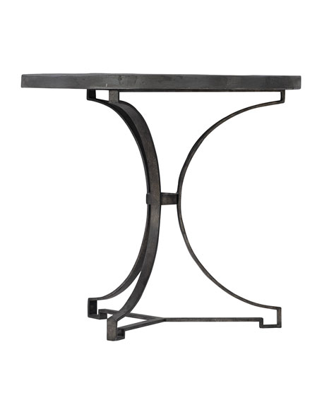 Canyon Ridge Round Metal Side Table