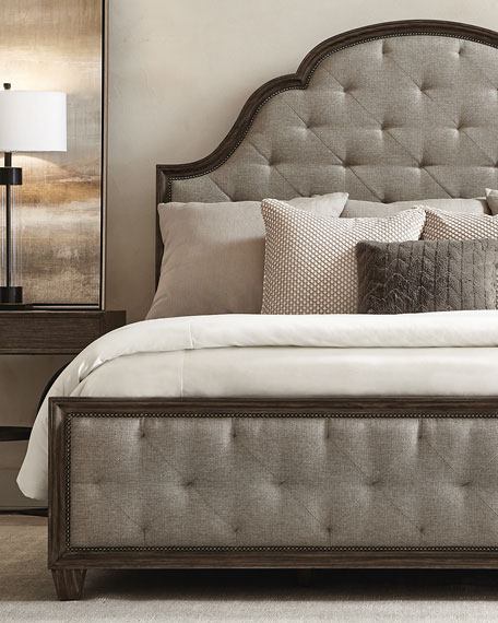 Canyon Ridge Upholstered Tufted Queen Bed