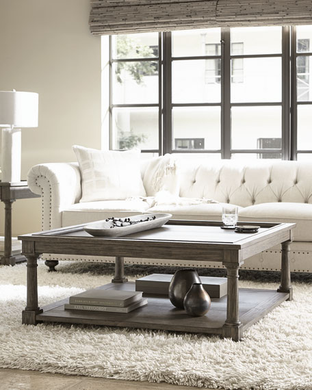Bernhardt Canyon Ridge Square Coffee Table