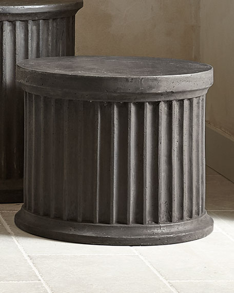 "Canyon Ridge Round Side Table - 24""T"