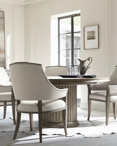 Canyon Ridge Round Pedestal Dining Table