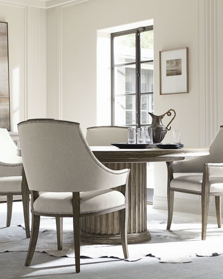 Canyon Ridge Round Pedestal Dining Table