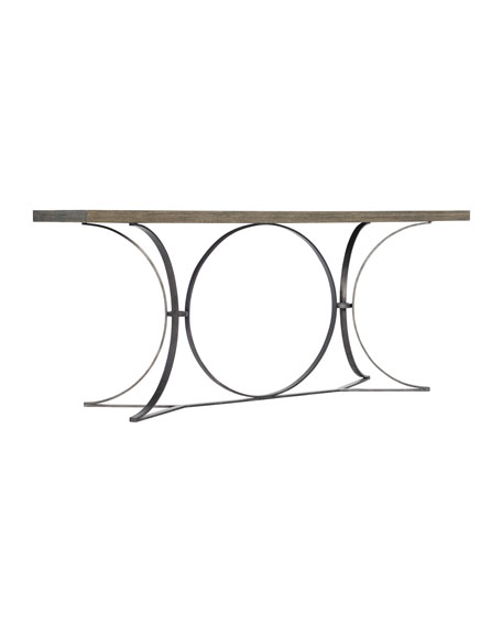 Canyon Ridge Metal Console Table