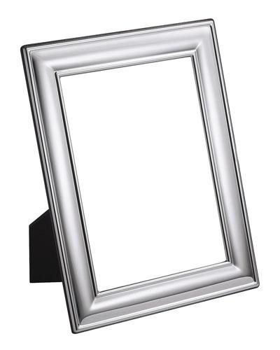 Silver Plated Plain Frame  4 x 6