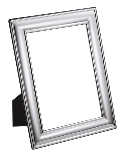 Silver Plated Plain Frame  5 x 7