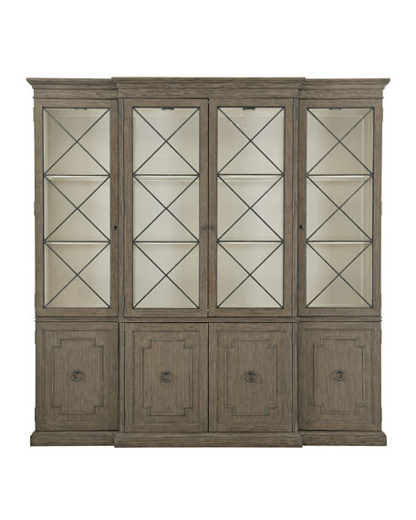 Canyon Ridge Wall China Cabinet