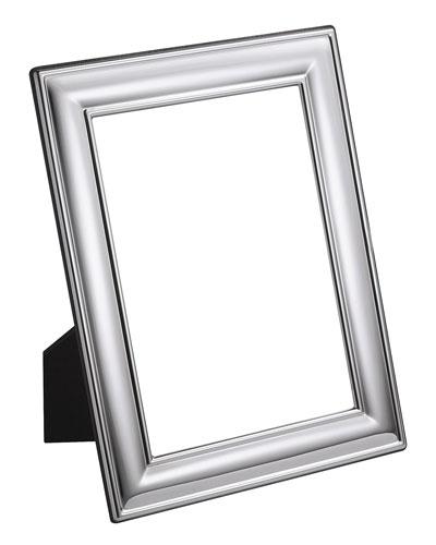 Silver Plated Plain Frame  8 x 10