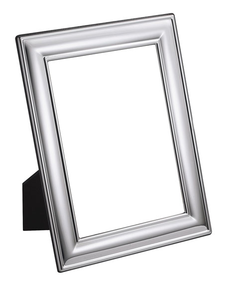 Carrs Of Sheffield Silver Plated Plain Frame, 8