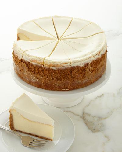 NY Plain Colossal Cheesecake