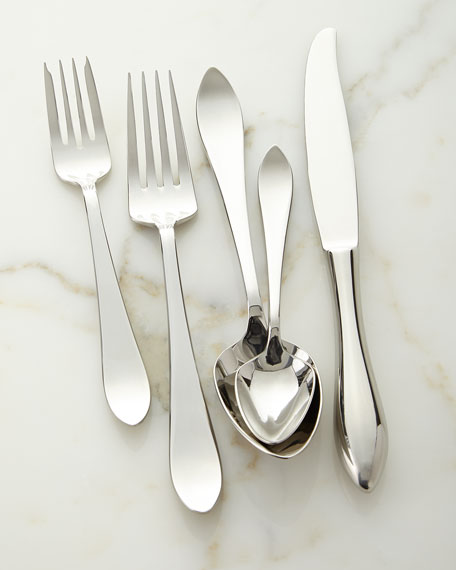 5-Piece Contorno Flatware Set