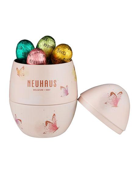 Neuhaus Chocolate 18-Piece Metal Egg