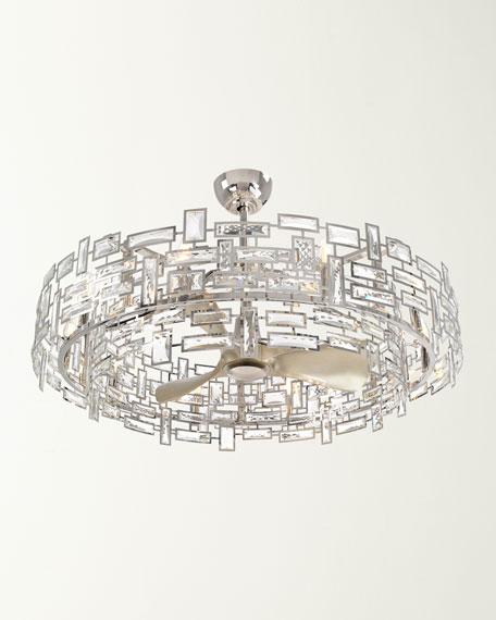 10-Light Crystal Fandelier