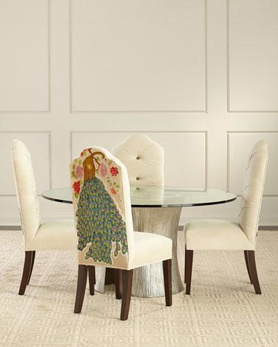 Machiato Peacock Dining Chair
