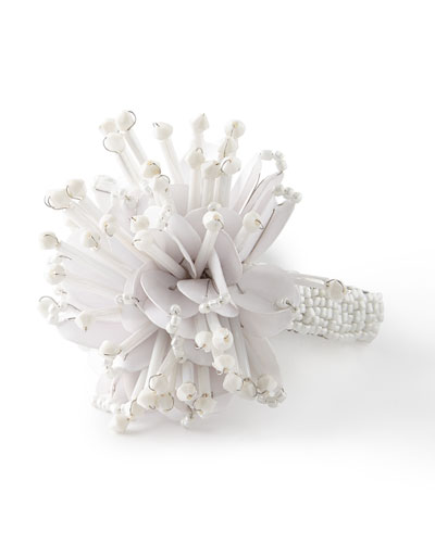 Starburst Beaded Napkin Ring