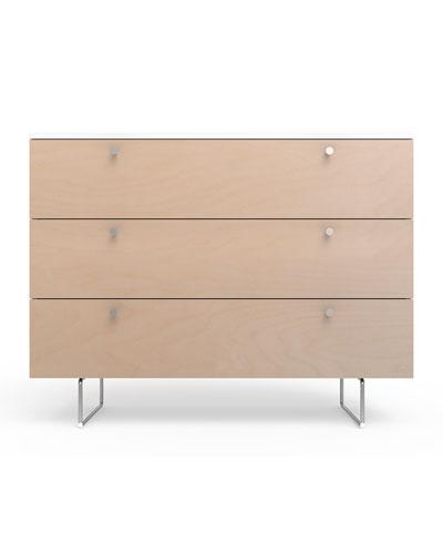 45 Alto Dresser  White/Birch