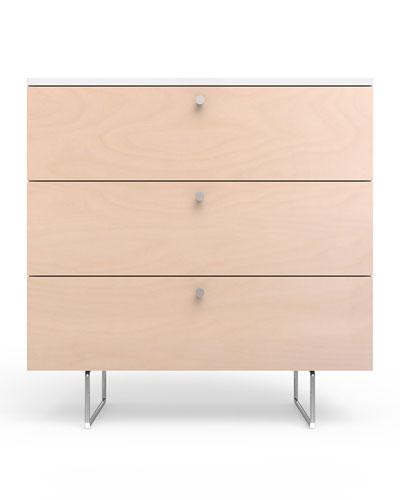 34 Alto Dresser  White/Birch