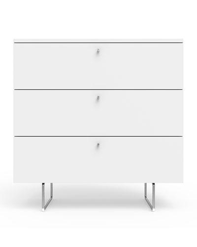 34 Alto Dresser  White