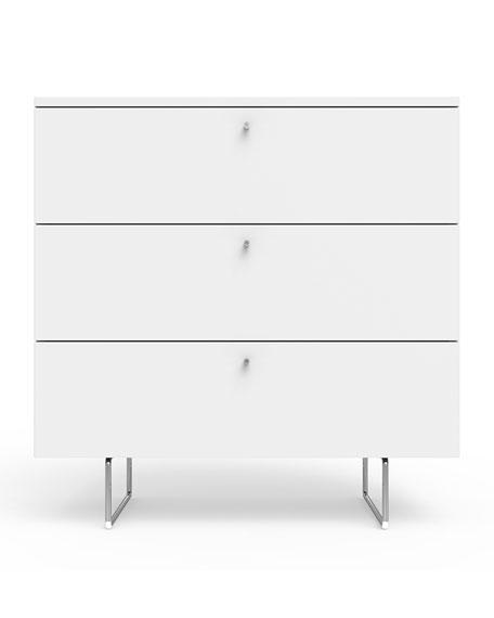 "34"" Alto Dresser, White"