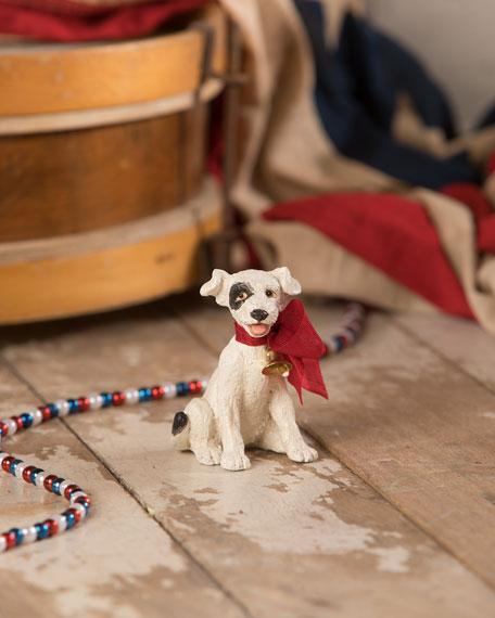 Bethany Lowe Let Freedom Ring Dog Figurine