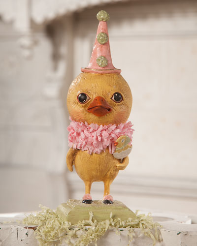 Little Party Chickie Figurine