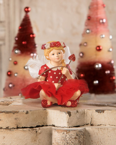 Bethany Lowe Little Cupid Girl Figurine