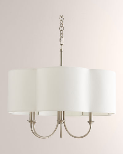 Rittenhouse Small Silver Chandelier